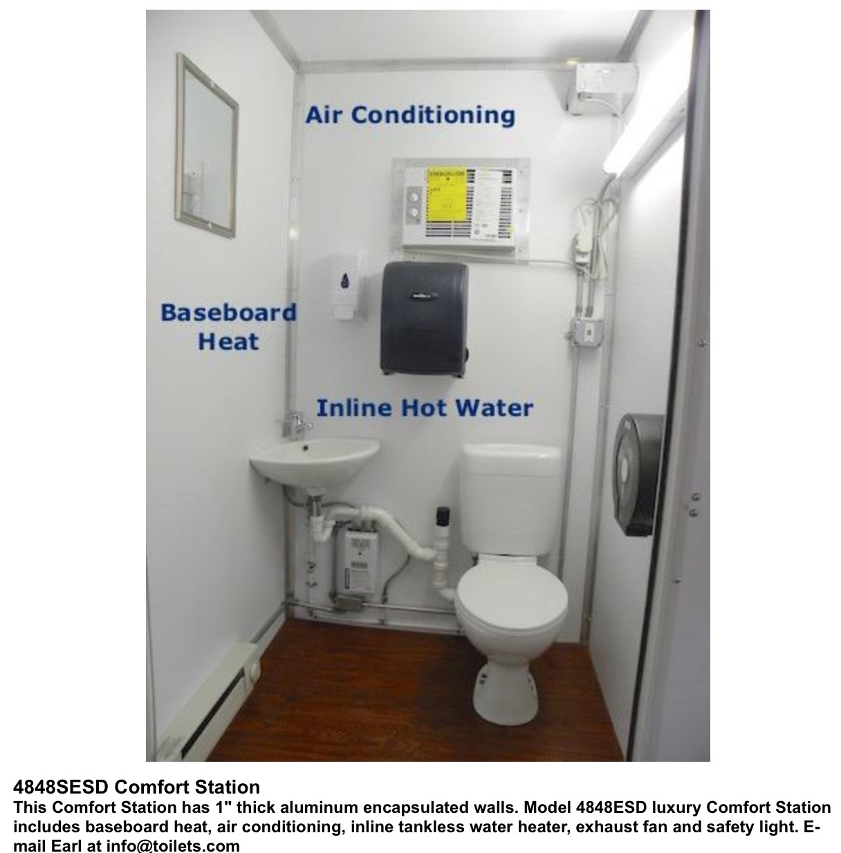 These Comfort Stations Do Not Look Like Portable Toilets. toilets com   Porta John Systems  Inc